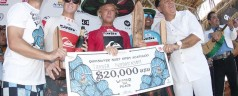 Tanner Hendrickson campeon del Abierto de Surf