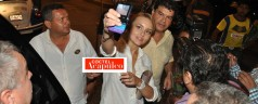 Angelique Boyer de parranda en Acapulco